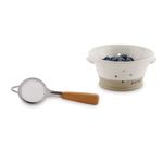mud pie Stoneware Berry Bowl Set