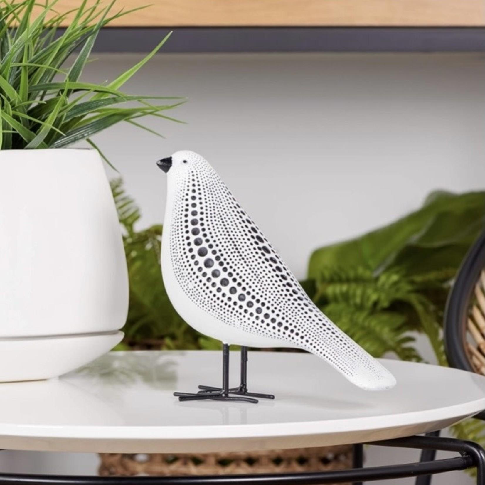 Torre & Tagus Debossed Dotted Standing  Bird