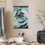 Torre & Tagus Miko Hanging Rolled Wall Art Succulent