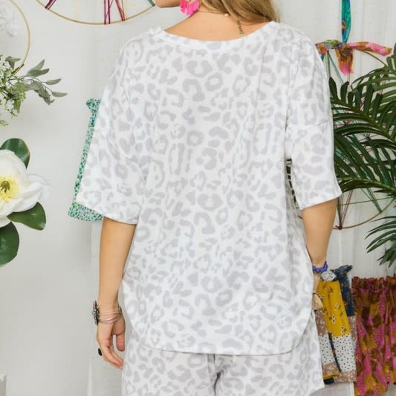 adora Knit Leopard Set