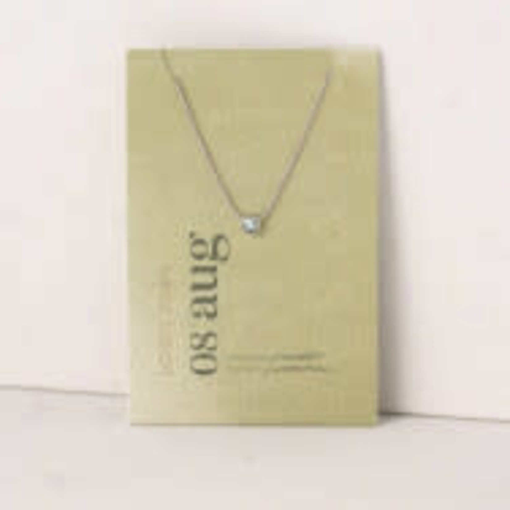 lovers tempo Birthstone Necklace
