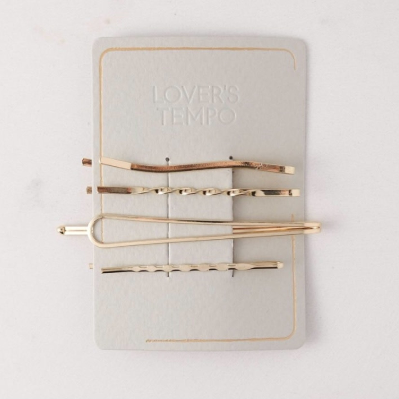 lovers tempo Priya Bobby Pins 4 Pack