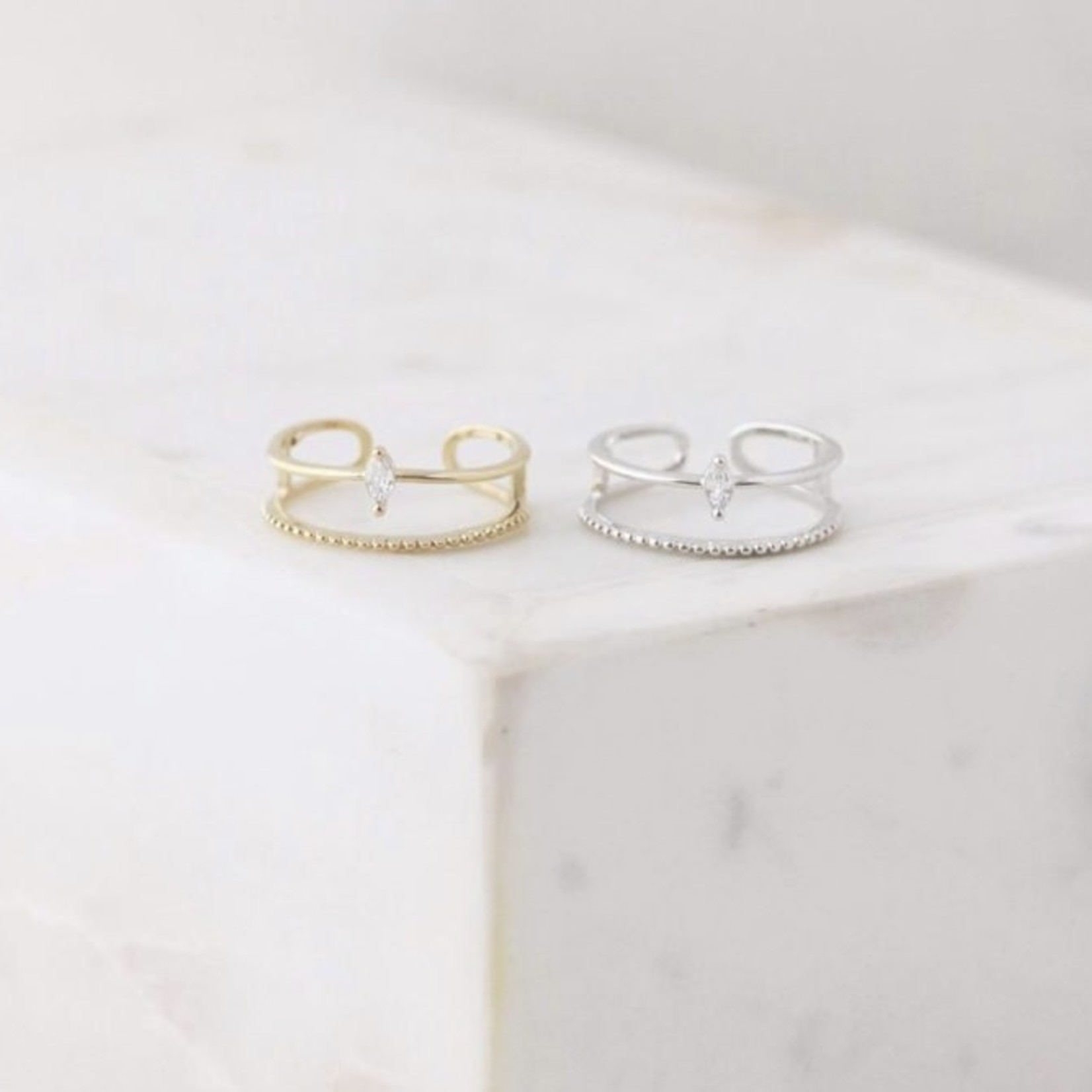 lovers tempo Marquise Ring