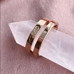 eliasz and ella XOXO Ring