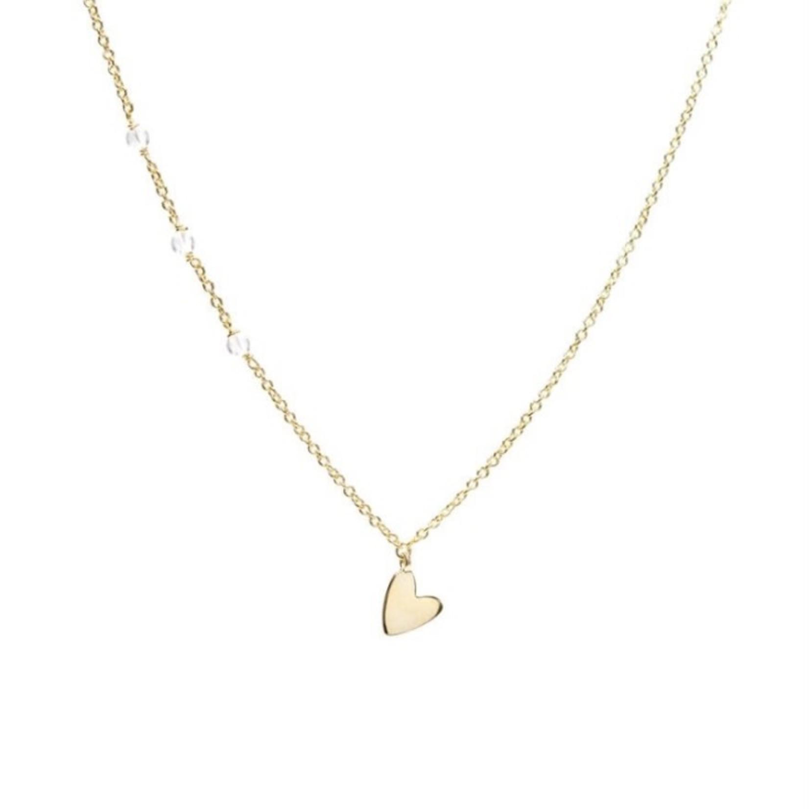 eliasz and ella Little Heart Necklace