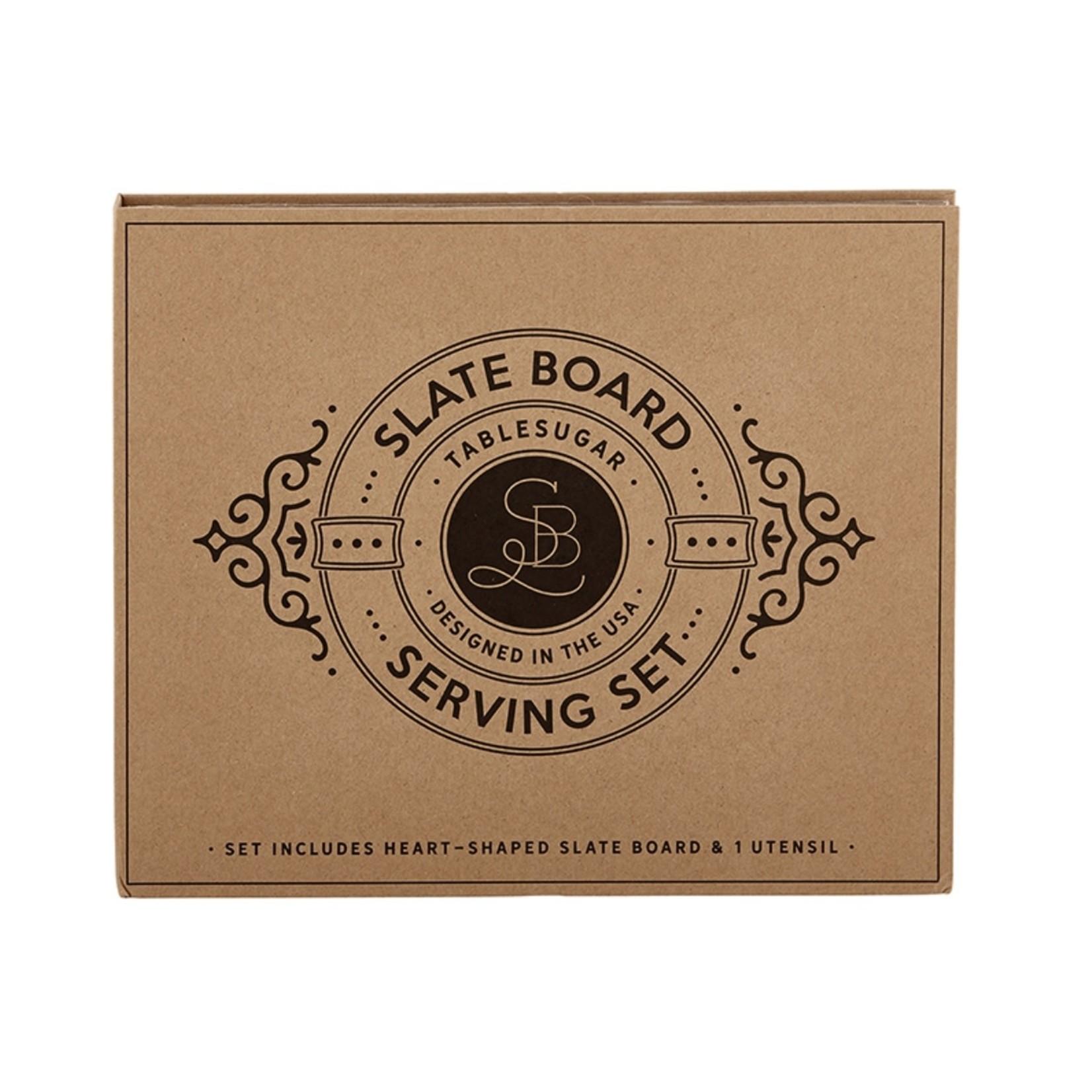 Santa Barbara Designs Slate Board Serving Set