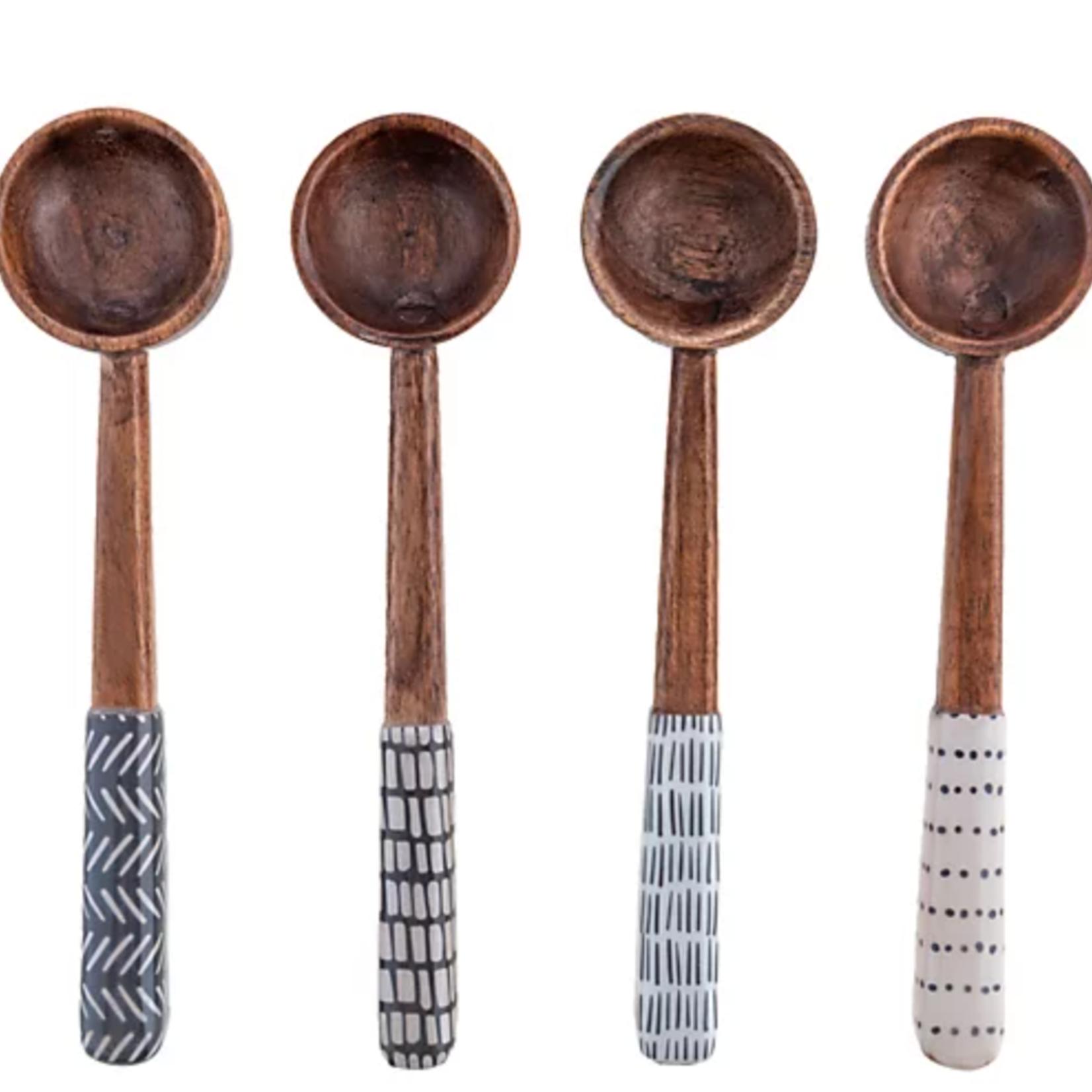 Karma Enamel Tasting Spoons  Set of 4