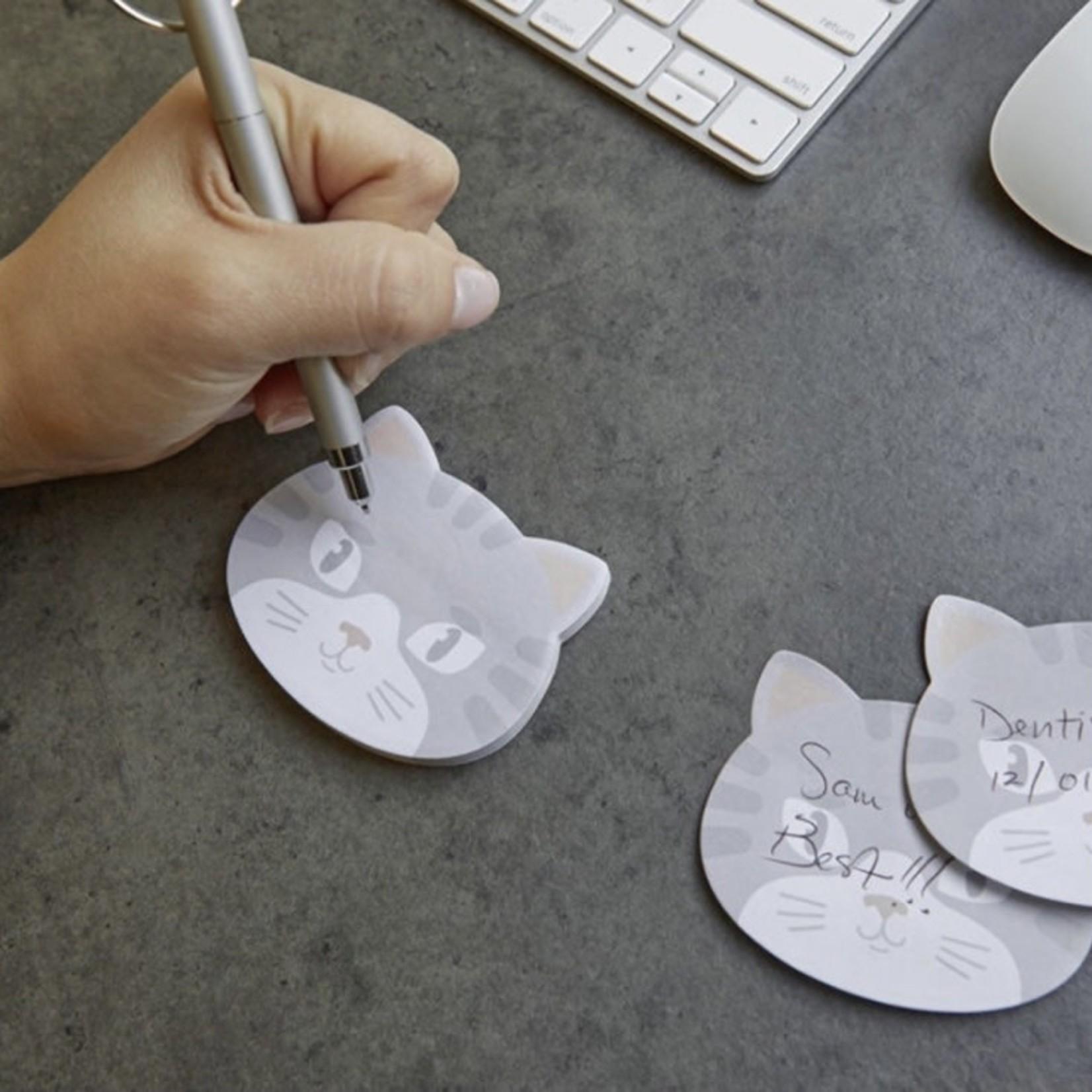 kikkerland Kitty Sticky Notes