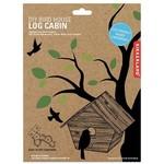 kikkerland DIY Birdhouse - Log Cabin