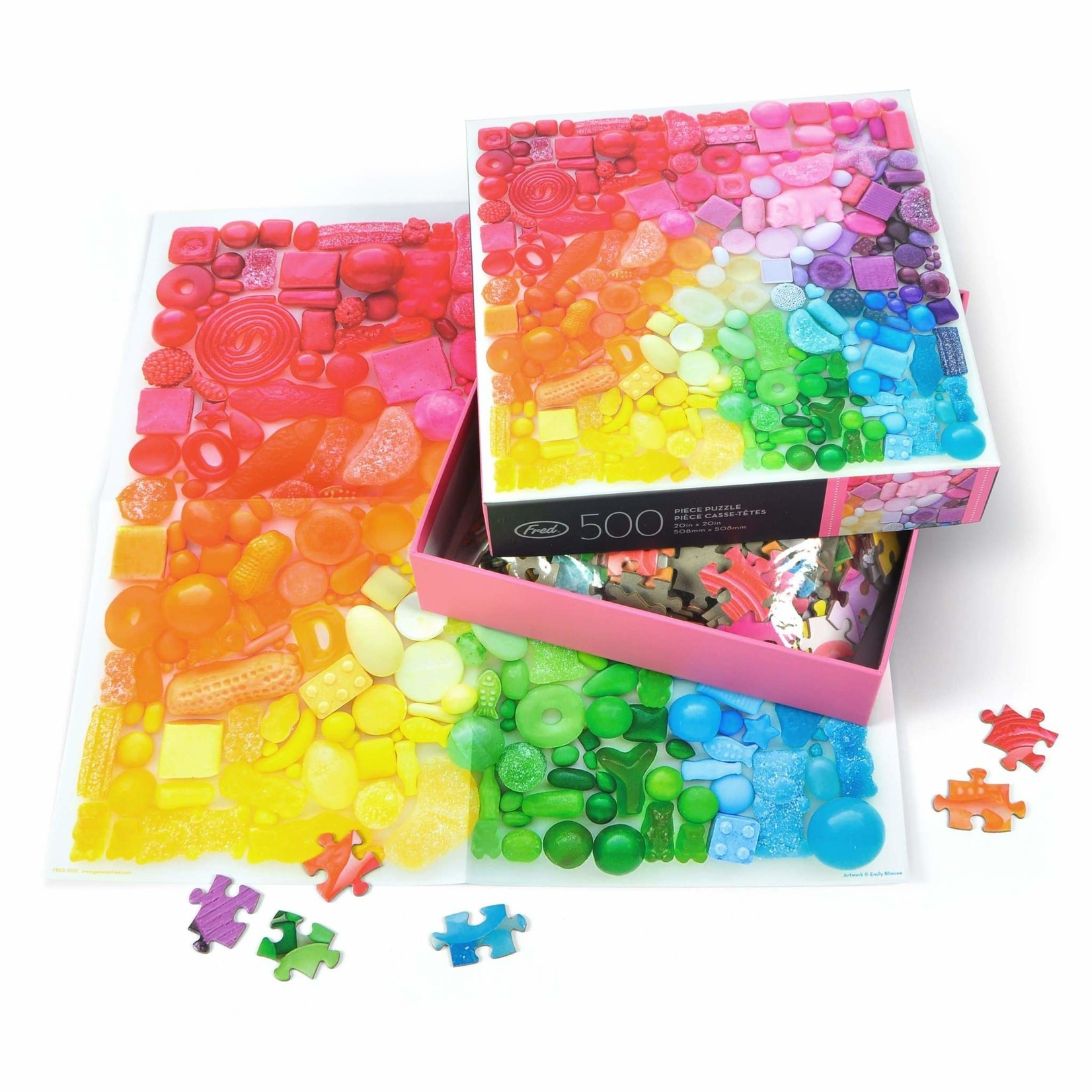 Fred 500 Piece Puzzle Sugar Spectrum