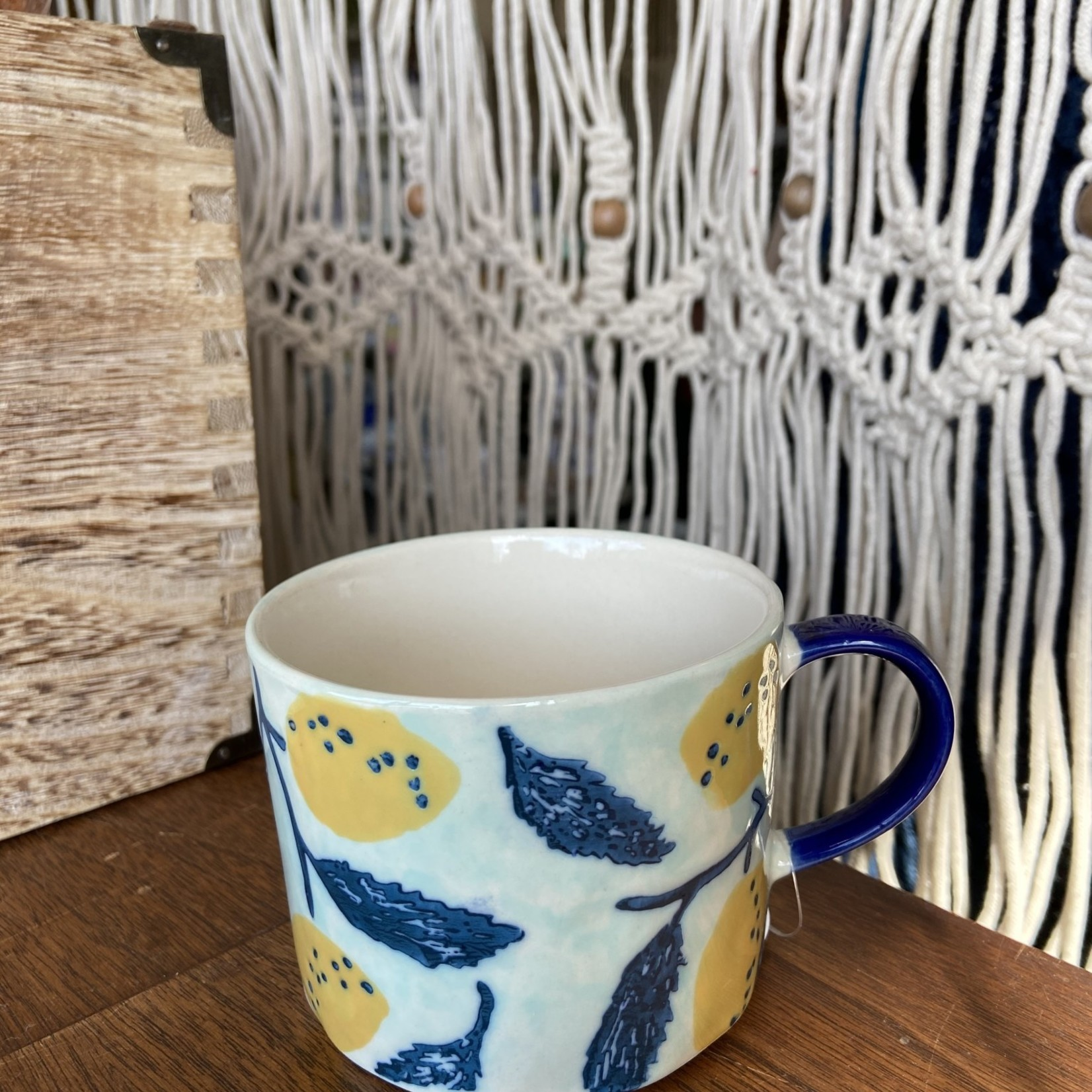 Indaba Lemon Breeze Mug