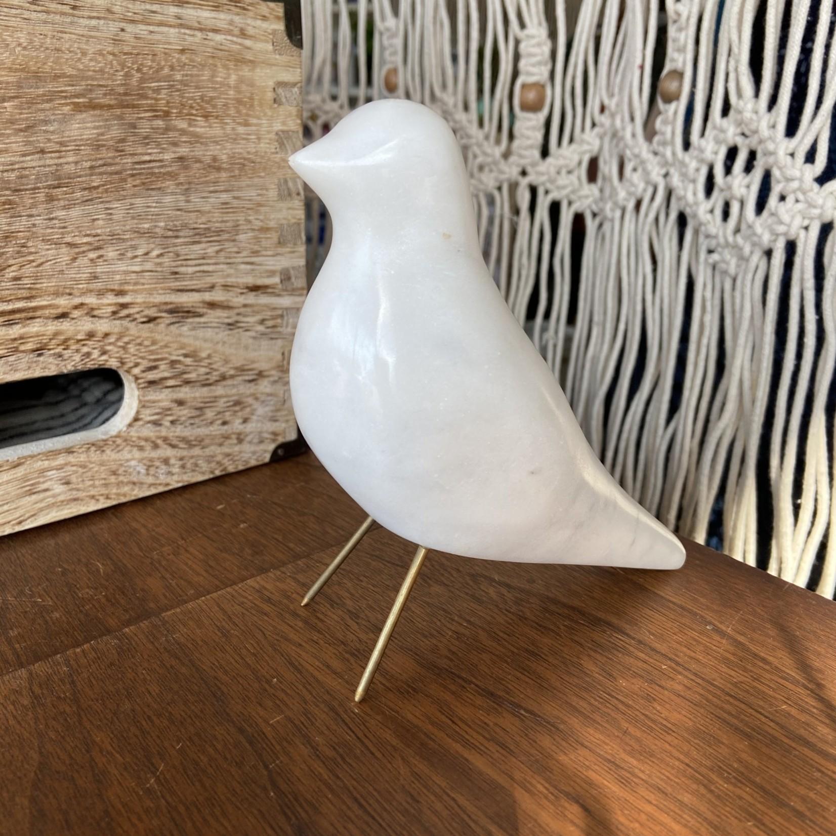 Indaba White Marble Bird