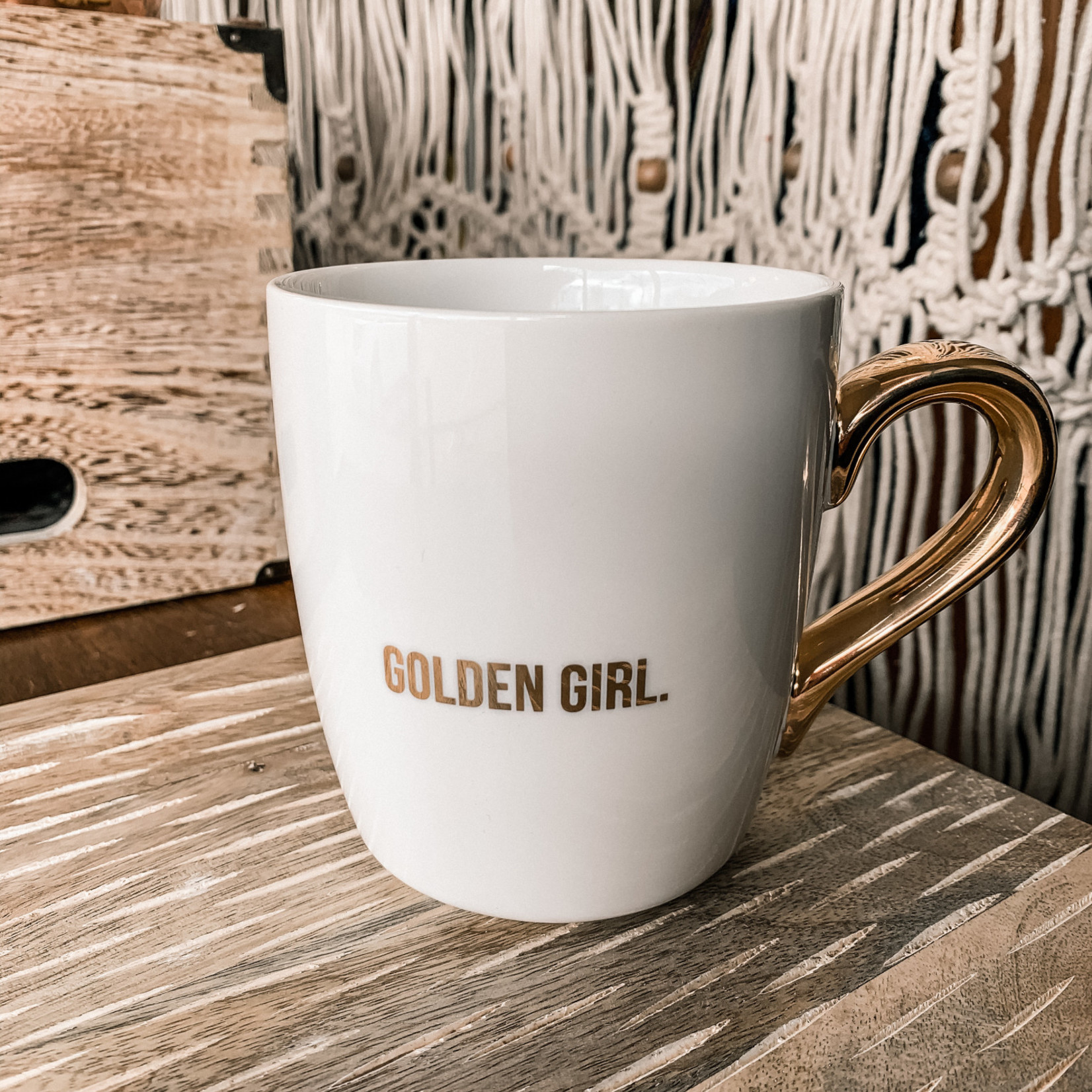 Santa Barbara Designs Gold Mug - Golden Girl