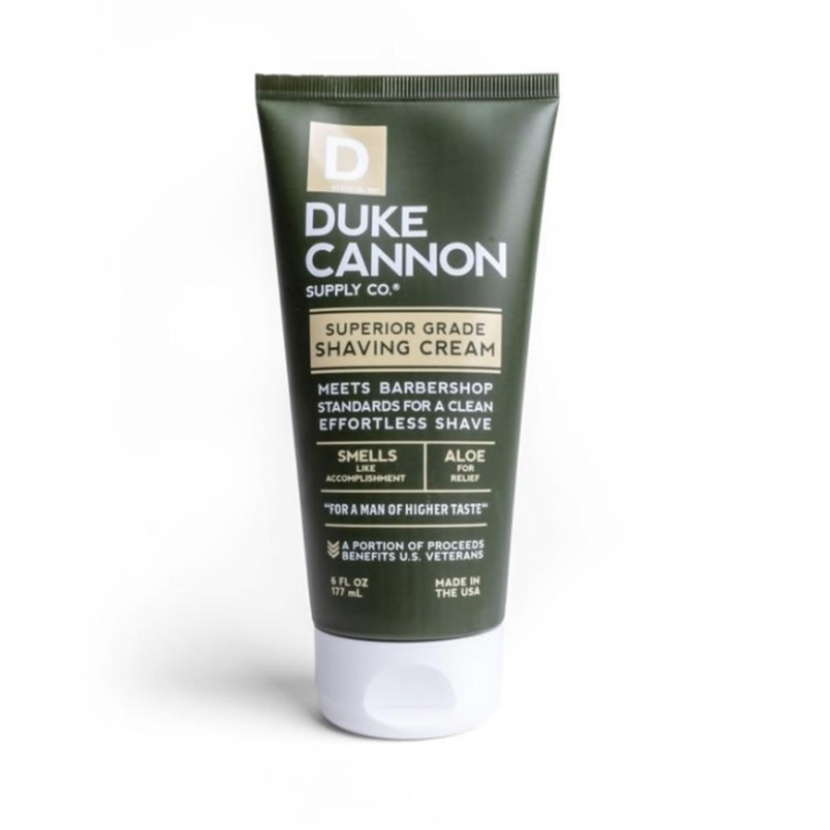 duke cannon Superior Shaving Cream