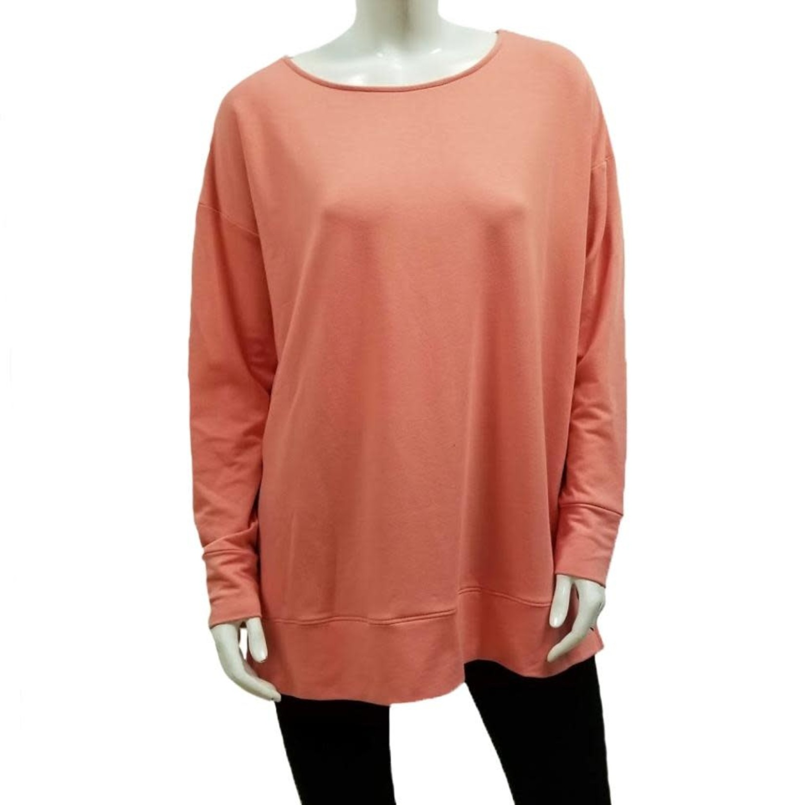 Gilmour Bamboo French Terry Banded Tunic