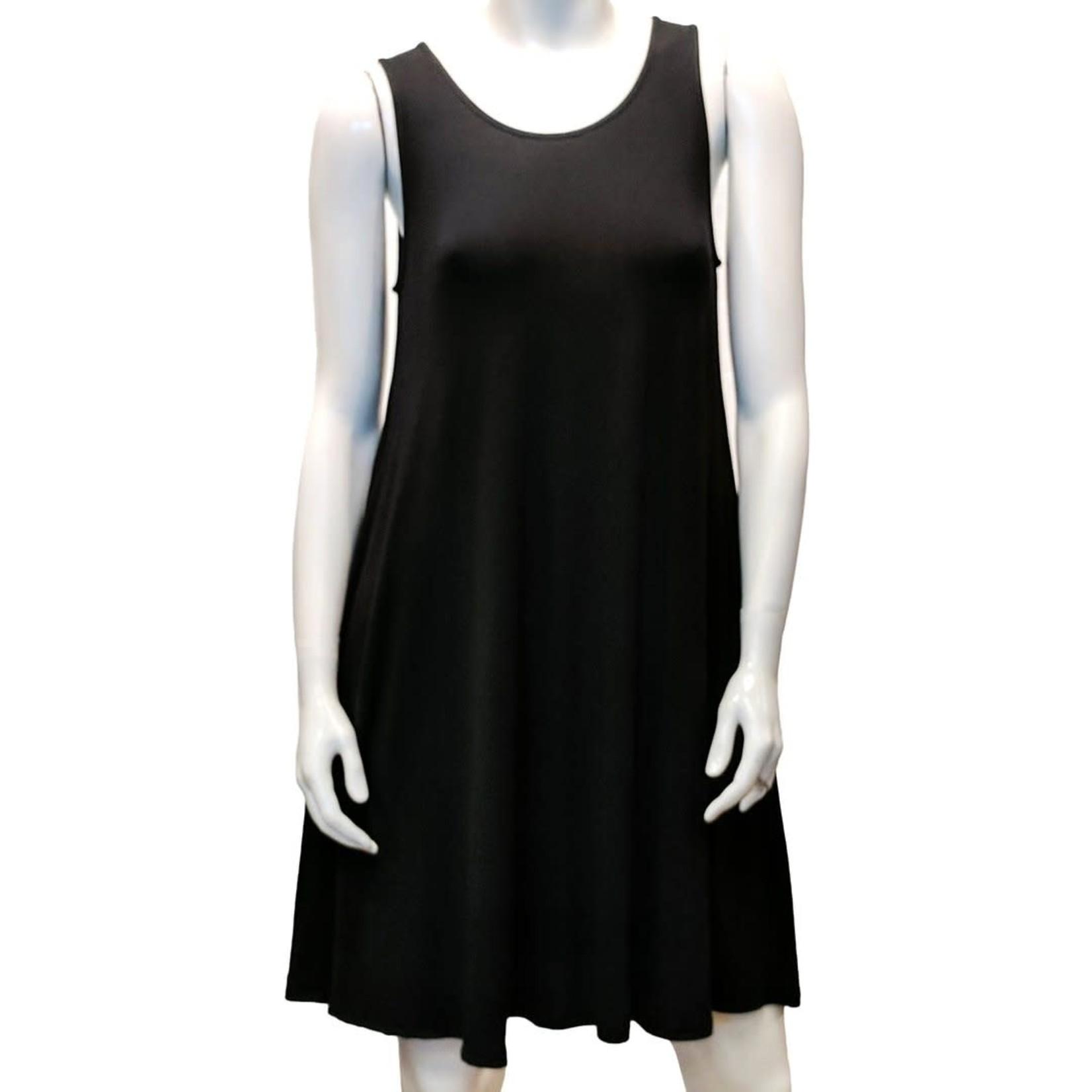 Gilmour Bamboo Sleeveless Pocket Swing Dress