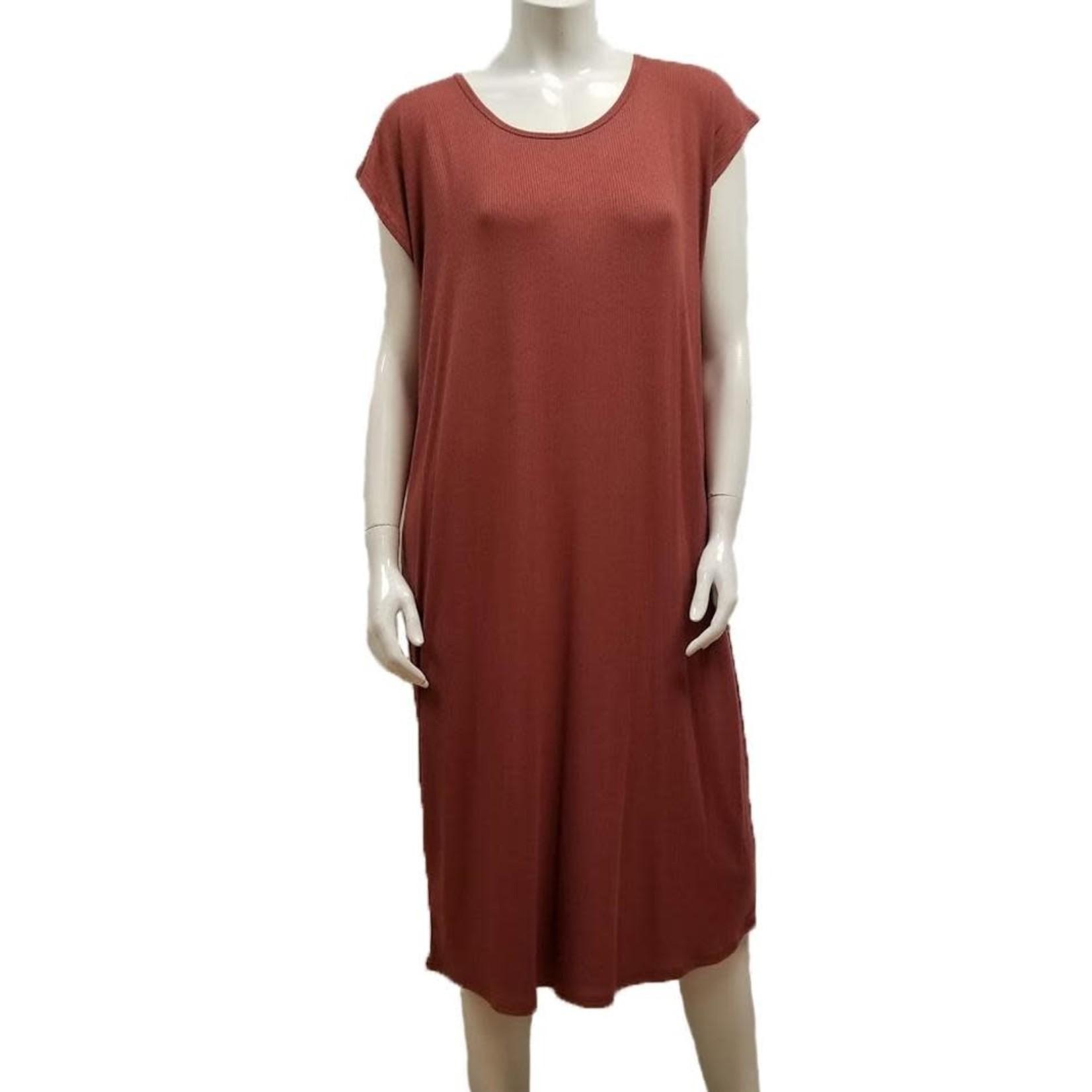 Gilmour Modal Rib Knit Dress