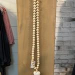 Indaba Wooden Heart Prayer Beads