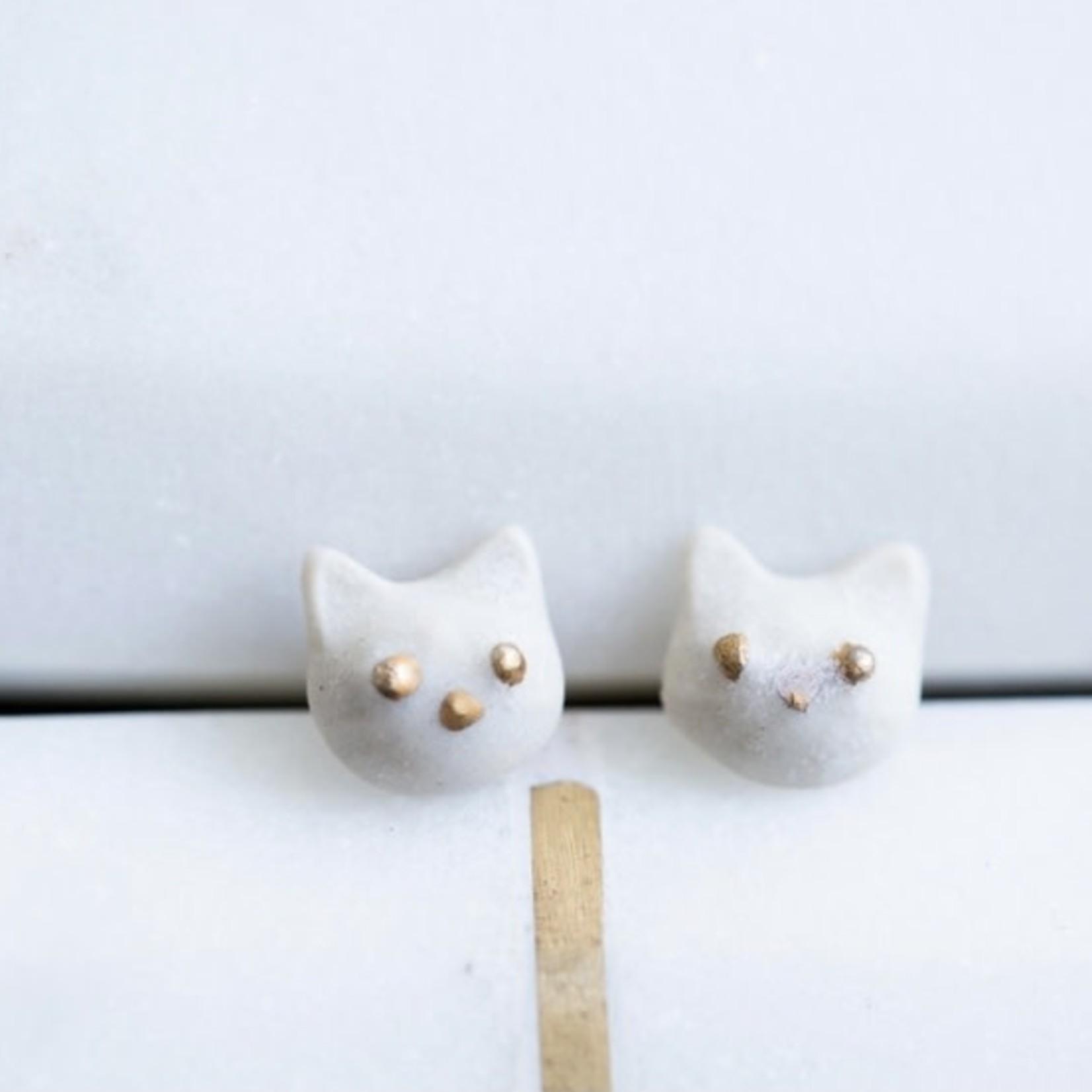 Slade Goods Kitty Stud Earrings