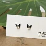 Slade Goods French Bulldog Stud Earrings