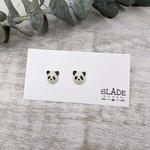 Slade Goods Panda Stud Earrings