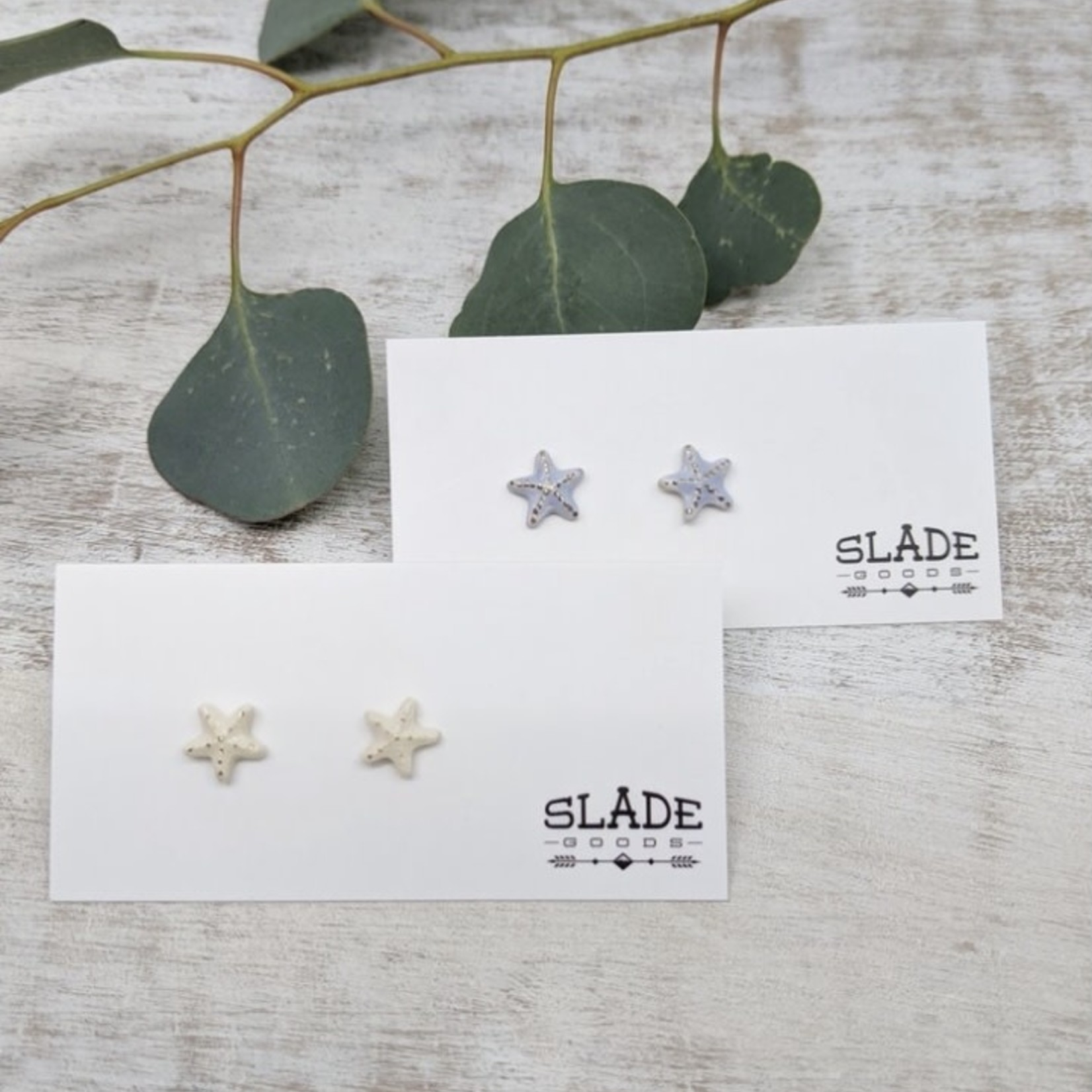Slade Goods Starfish Stud Earrings
