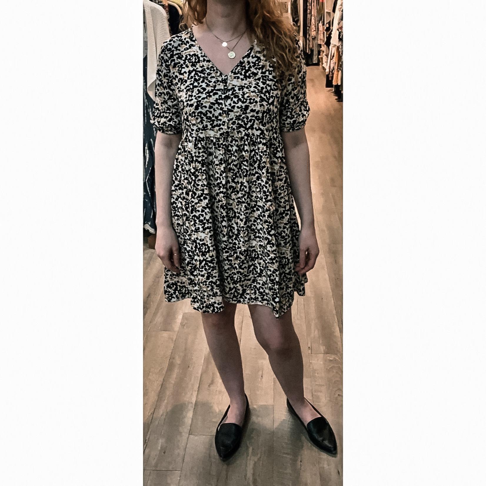 ICHI Button Down Dress