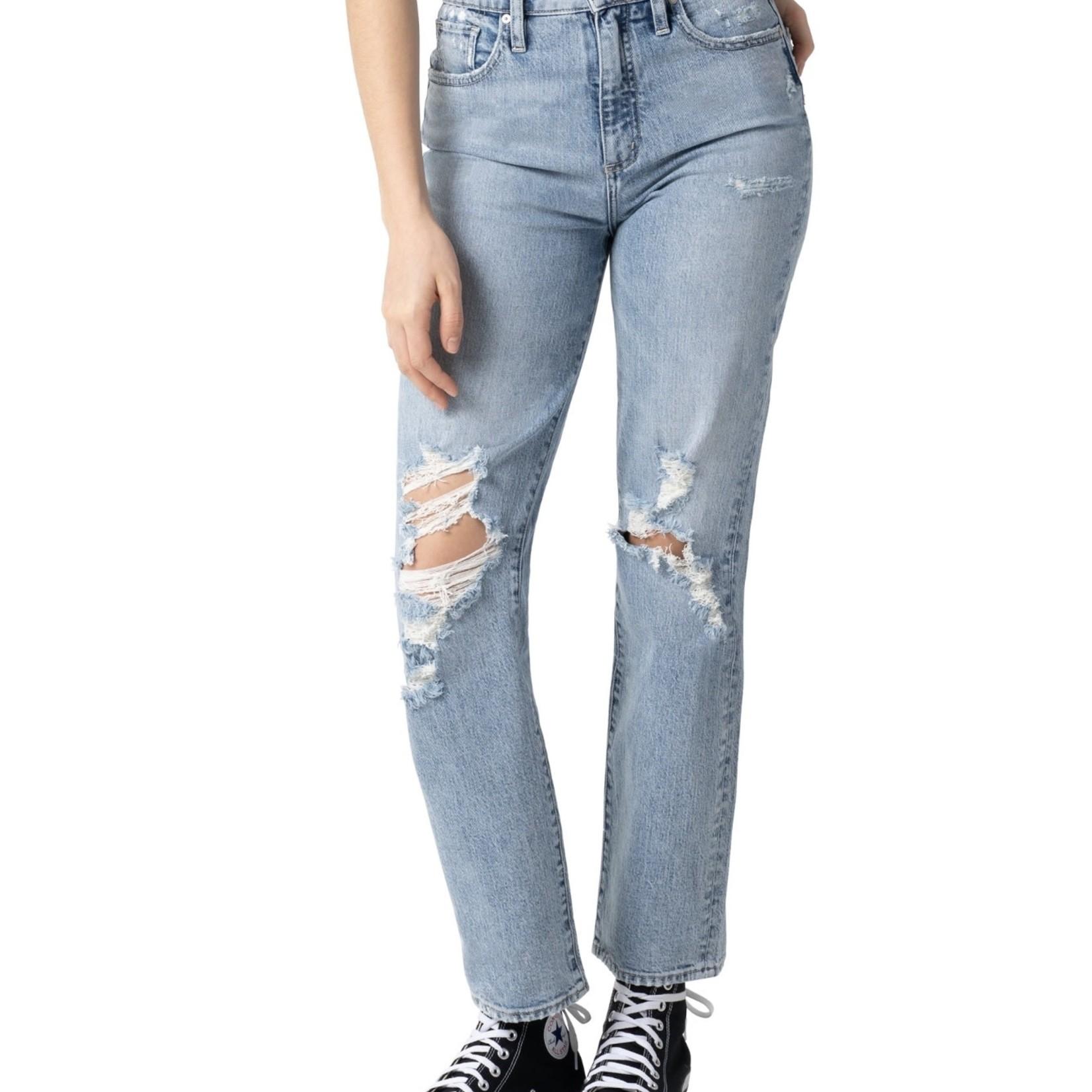 Silver Jeans Co. Borebank High Rise Straight Leg