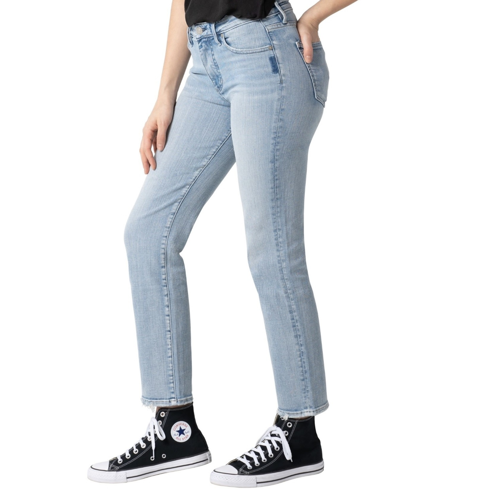 Silver Jeans Co. Isbister High Rise Slim Straight