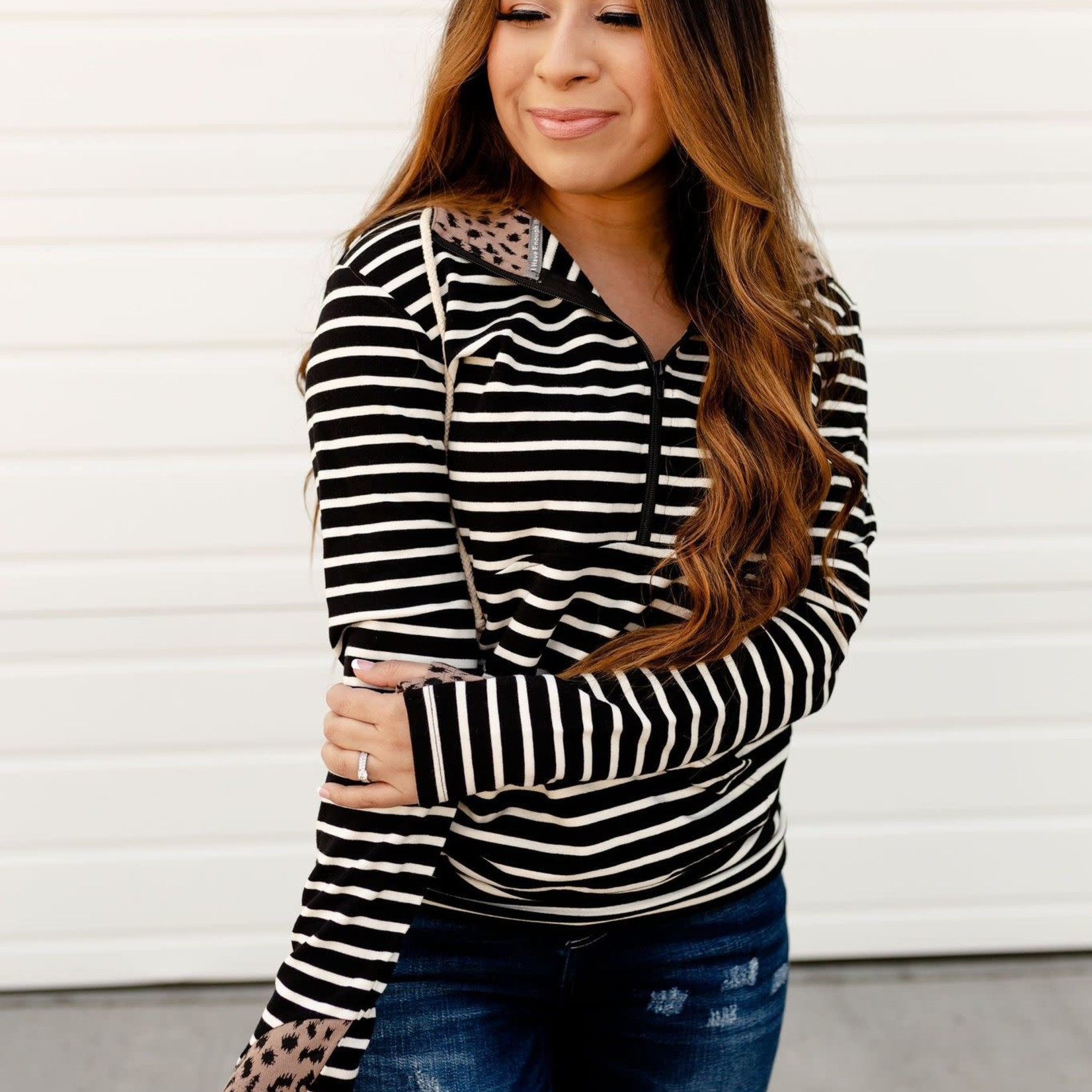 Ampersand Avenue Half-zip Sweatshirt