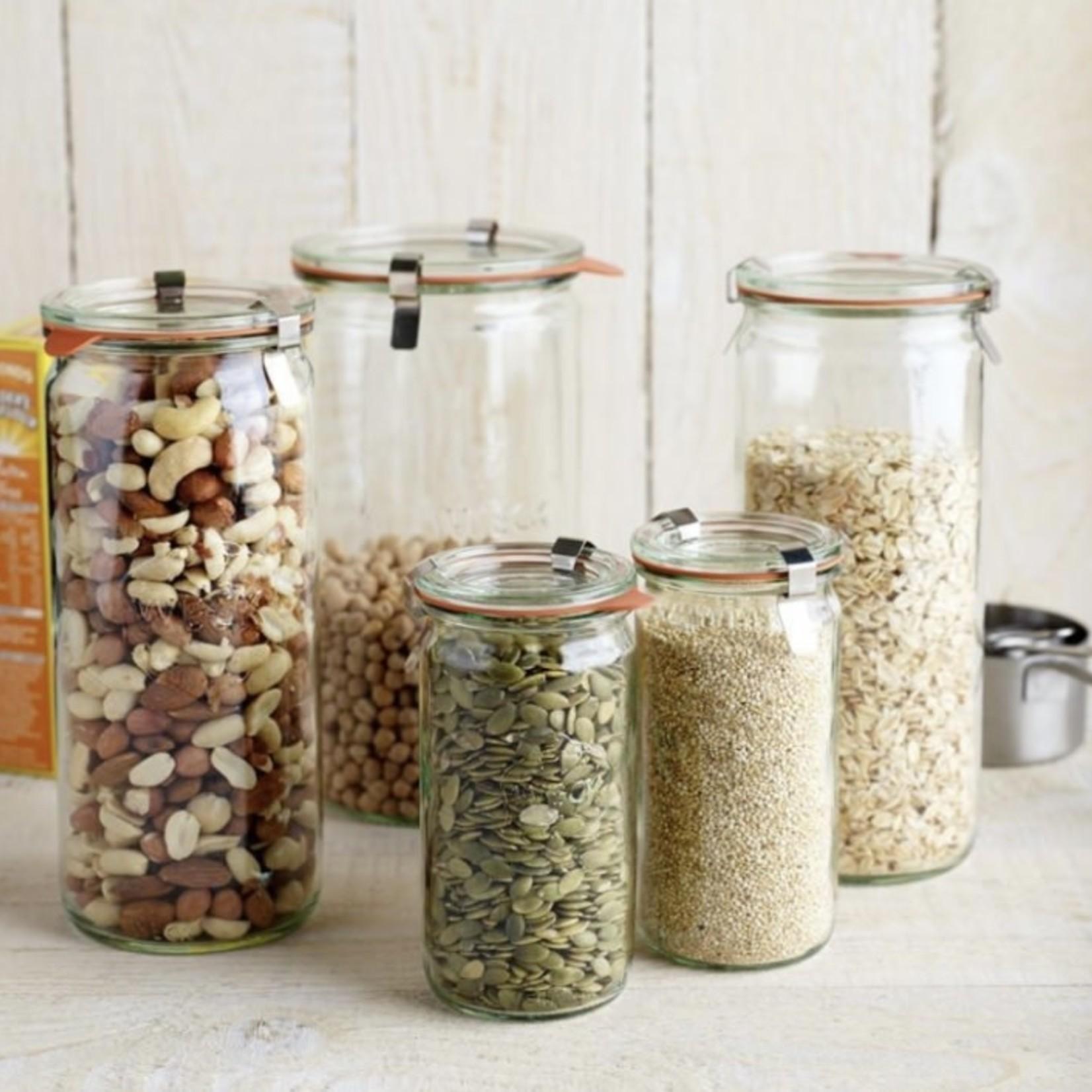 Weck Cylindrical Jar 1 L