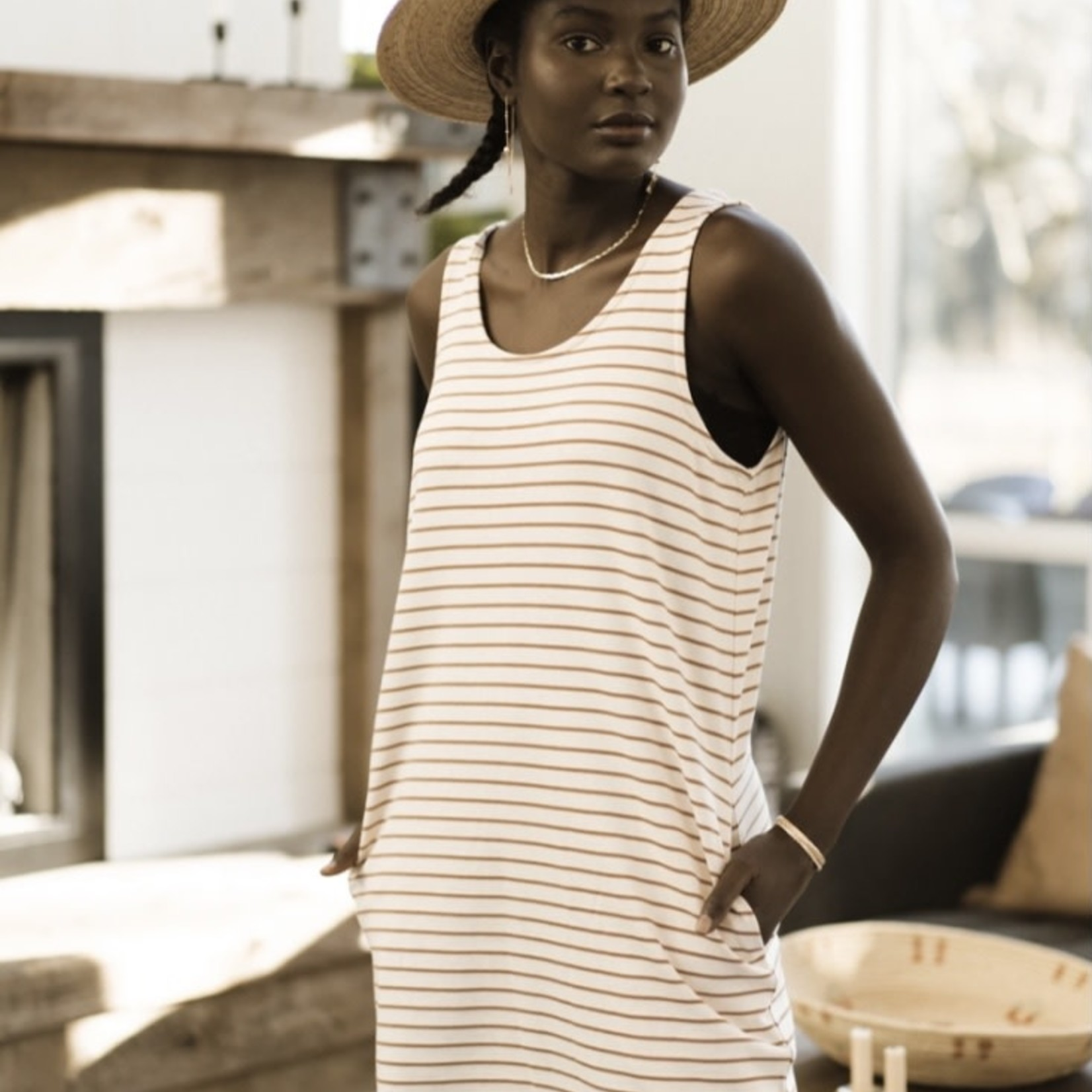 jackson rowe Saman Tank Dress