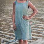 Cosmo's Impex Enterprises Boat Neck Tunic Dress