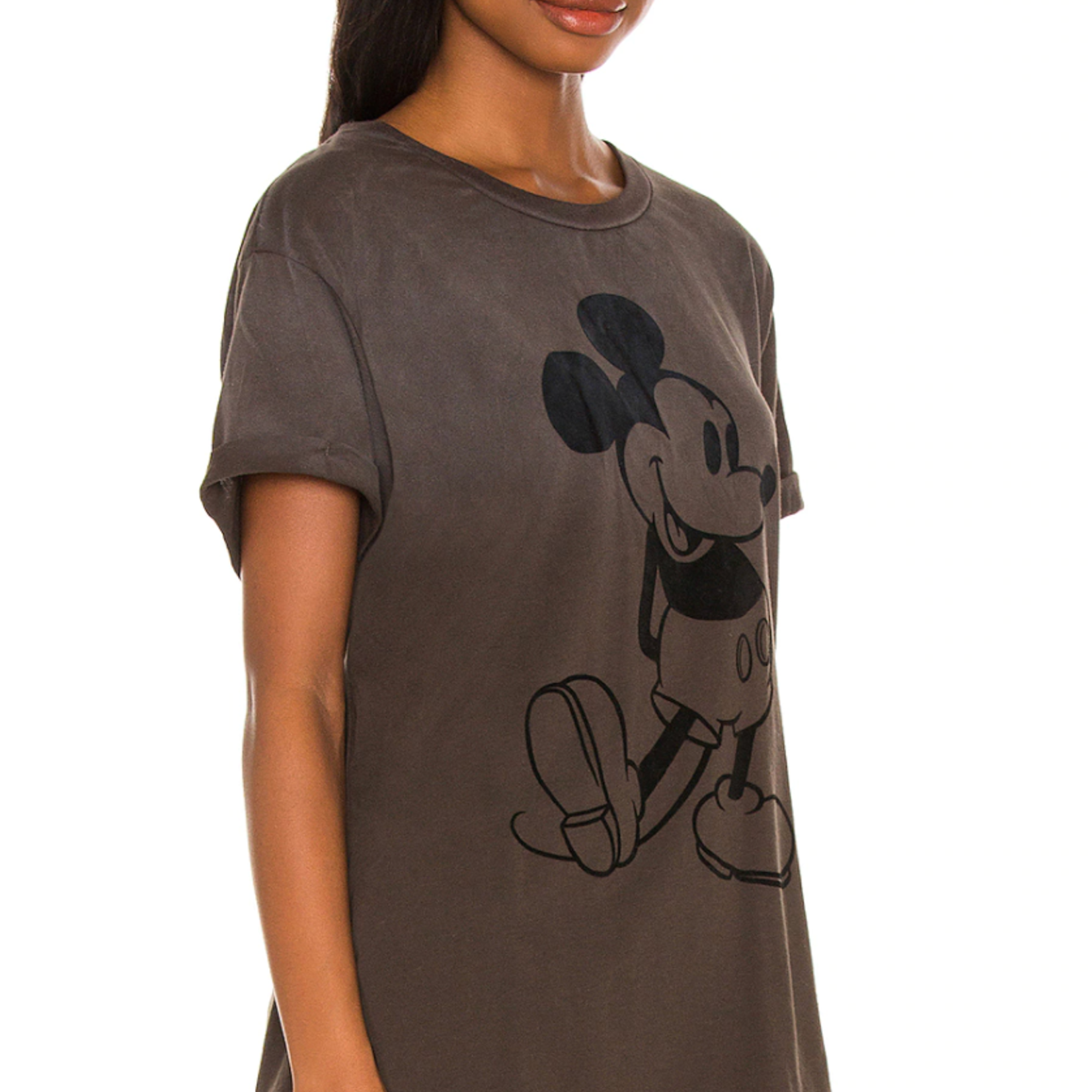 chaser Mickey Mouse Rolled Sleeve Tee