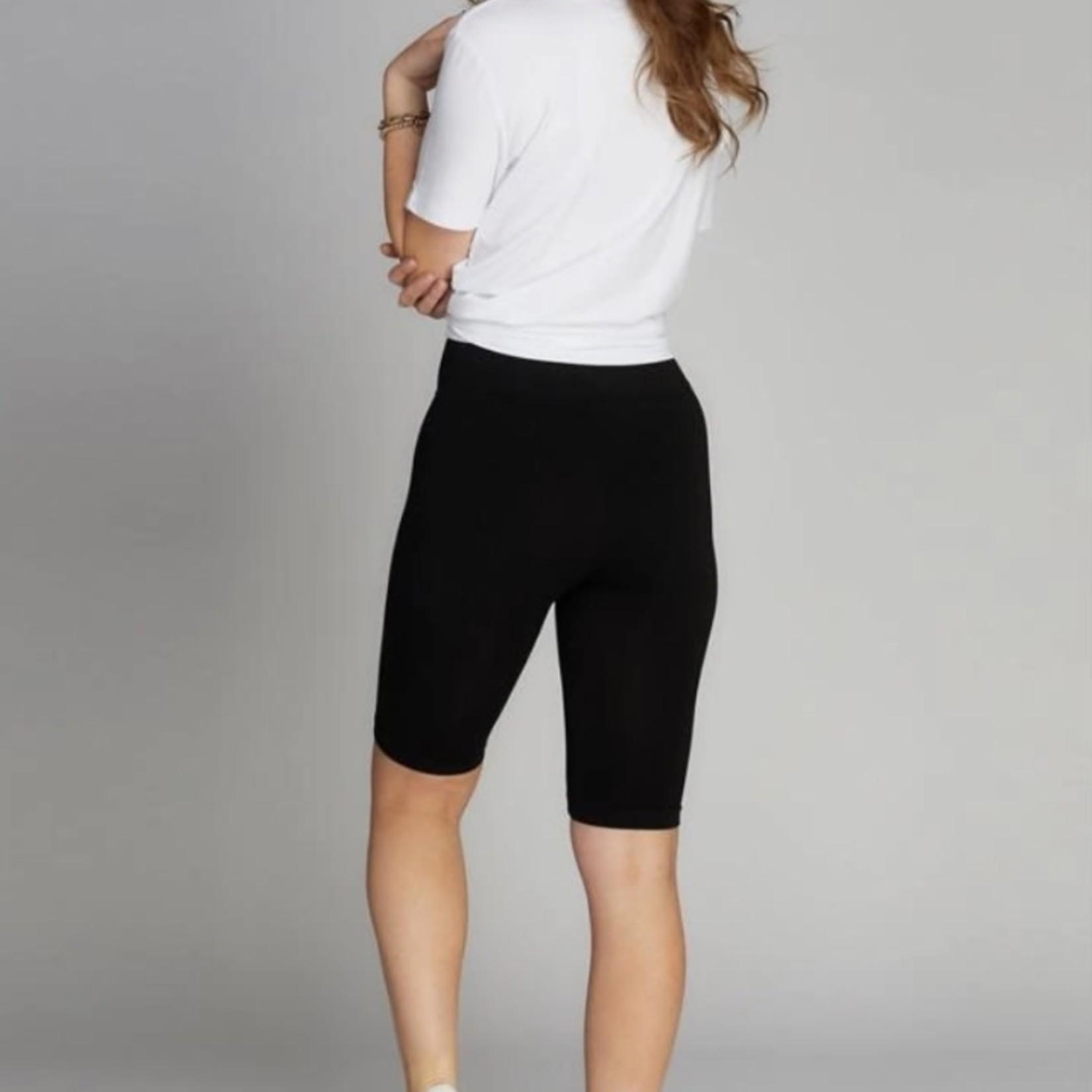 cest moi High Waisted Bike Shorts O/S