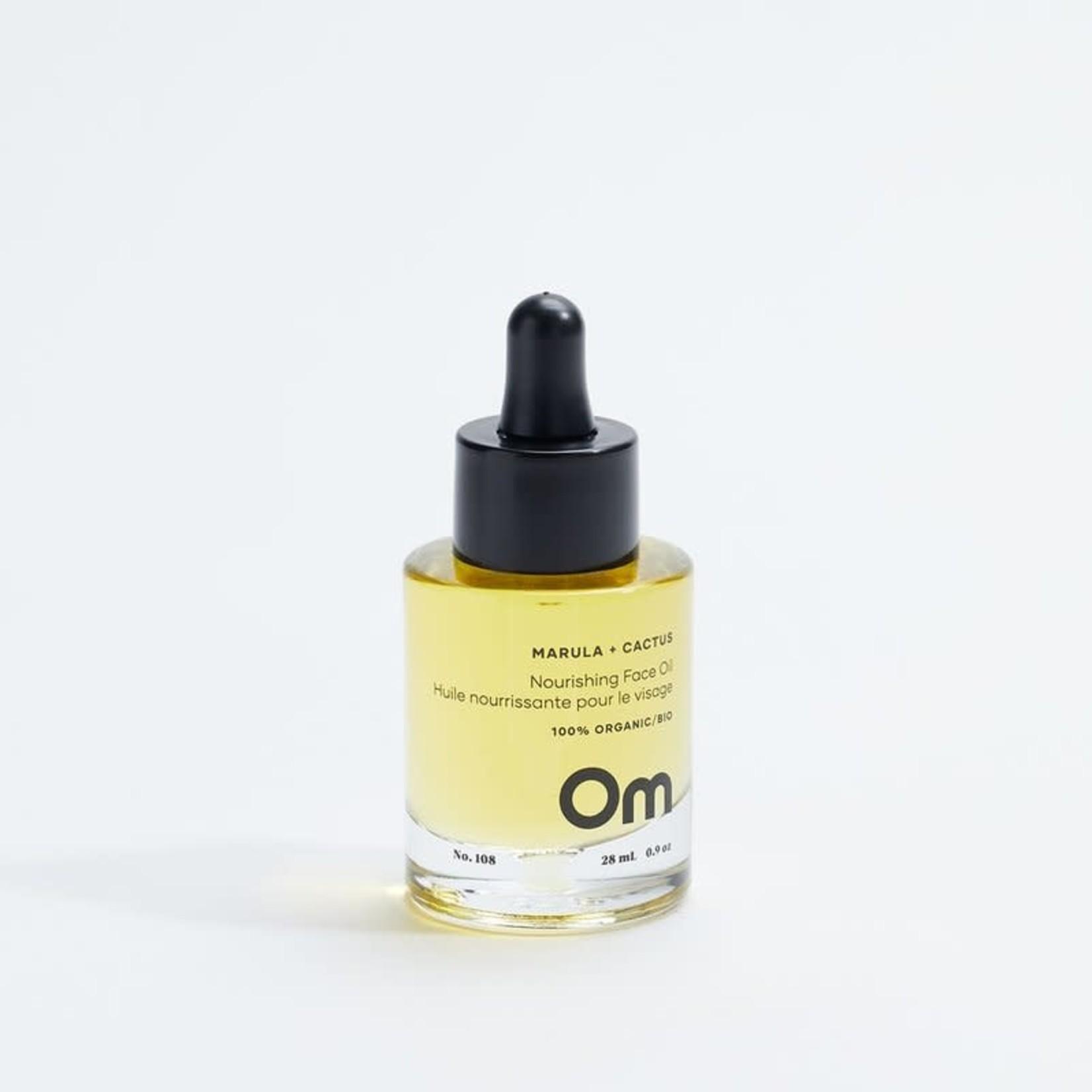 om organics Marula + Cactus Nourishing Face Oil