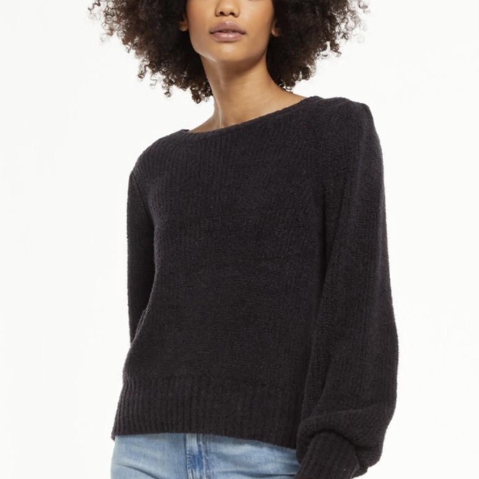 z supply Bailey Puff Sleeve Sweater