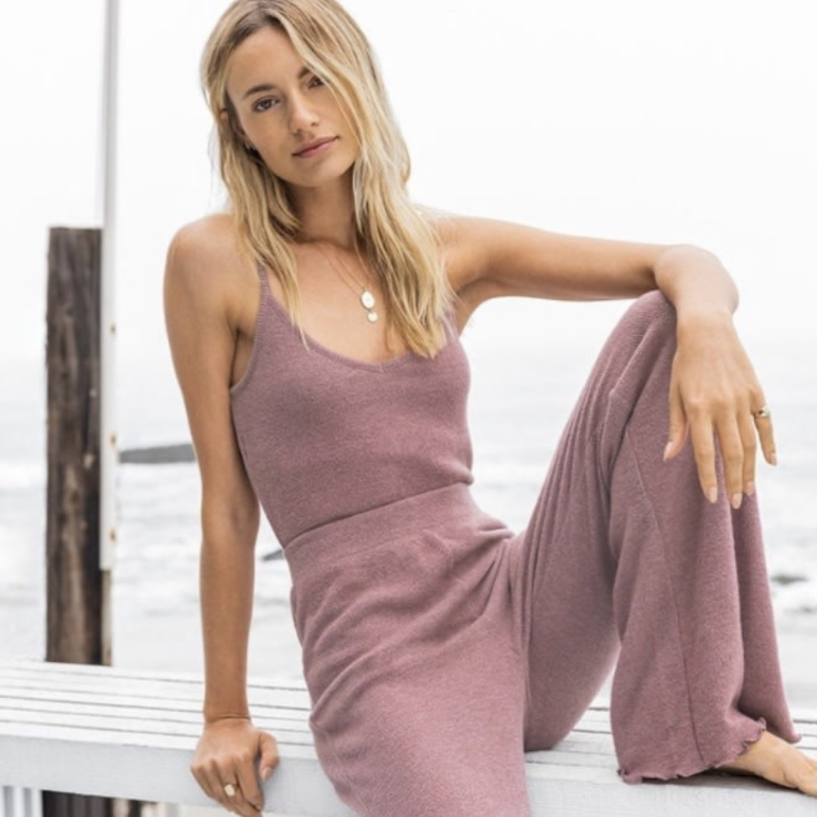 z supply Lounging Around Ribbed Pant