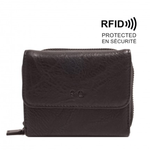 S-Q Inc. Amber Bi-Fold Wallet