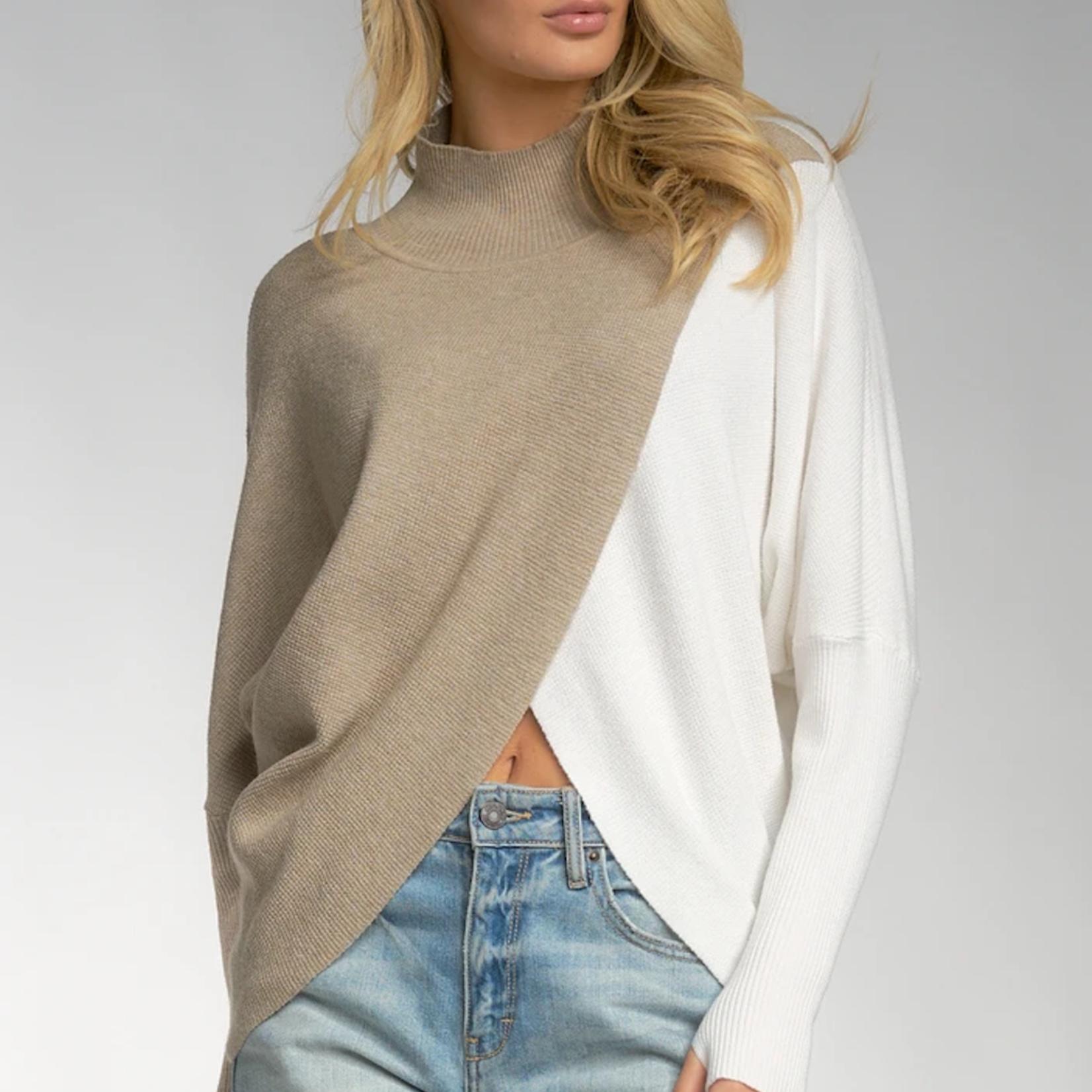 Elan Sweater Mock SWB10690