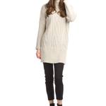 Papillon Cable Knit Sweater Dress SD-11425