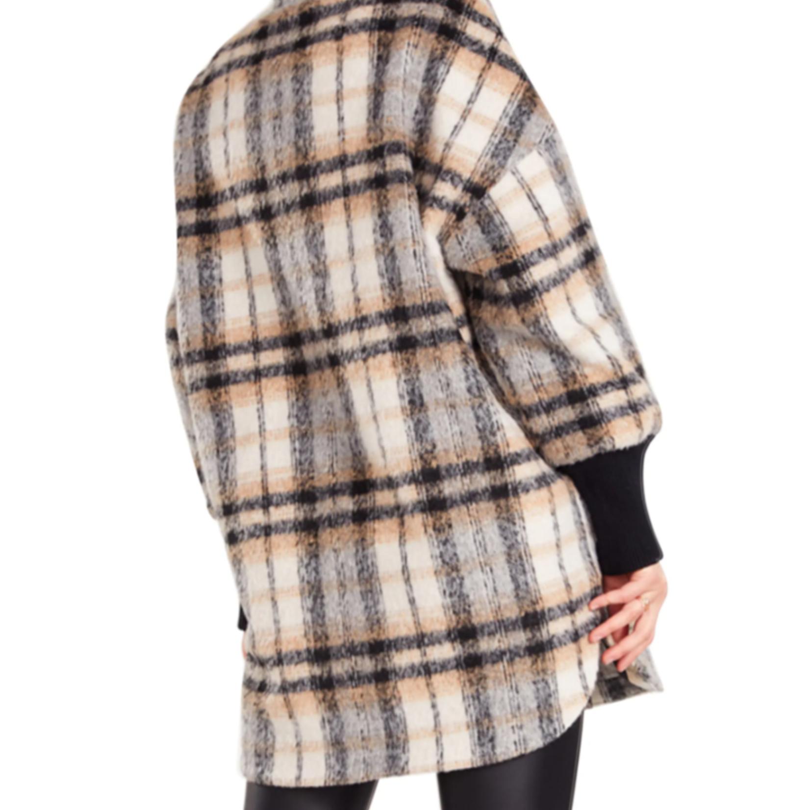 BB dakota Plaid Times Coat BL300432
