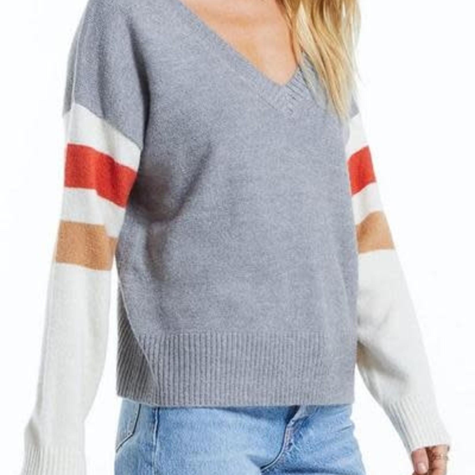 z supply Sportif Colour Block Sweater