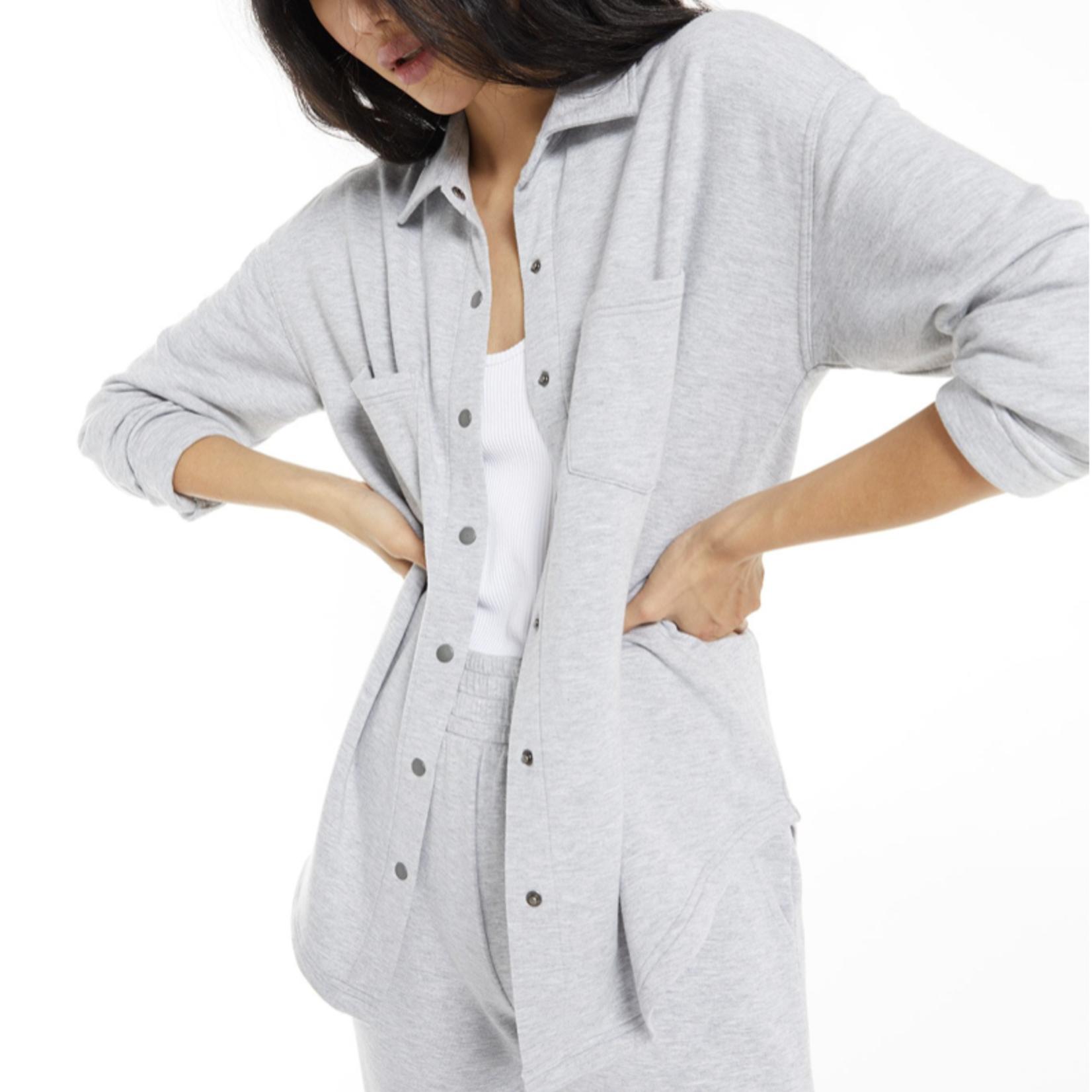 z supply WFH Modal Shirt Jacket