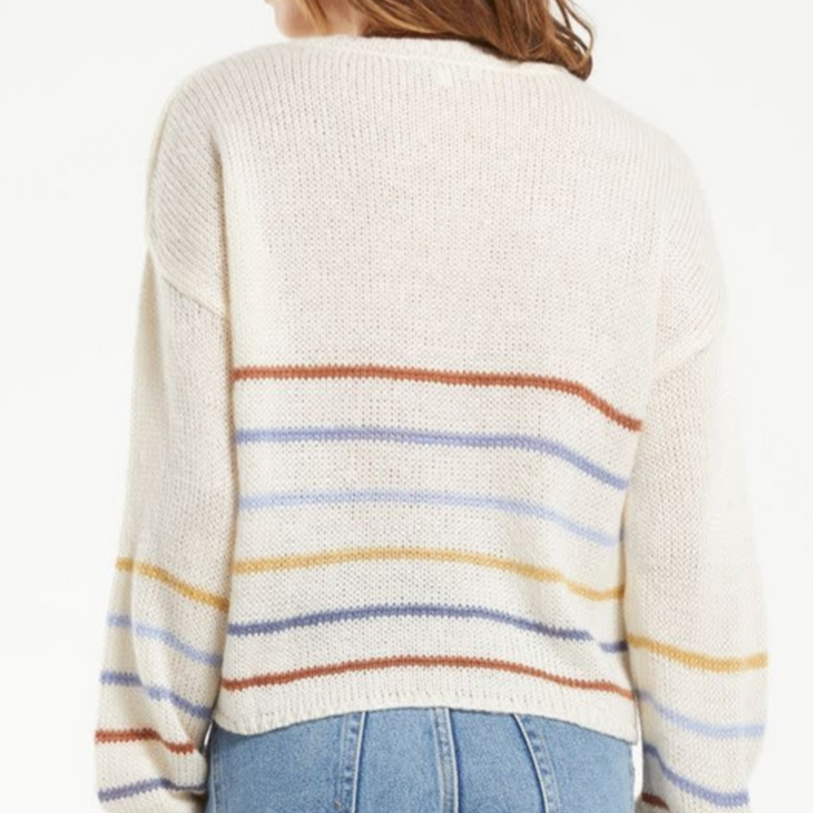 z supply Solange Stripe Sweater