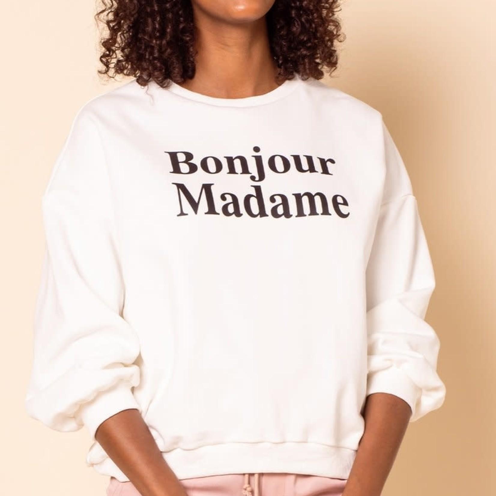 pink martini The Bonjour Sweatshirt