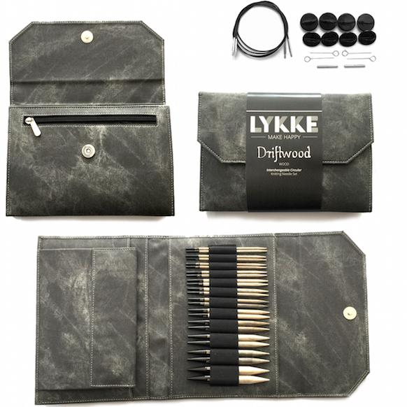 "LYKKE LYKKE Driftwood 5"" Interchangeable Needles"