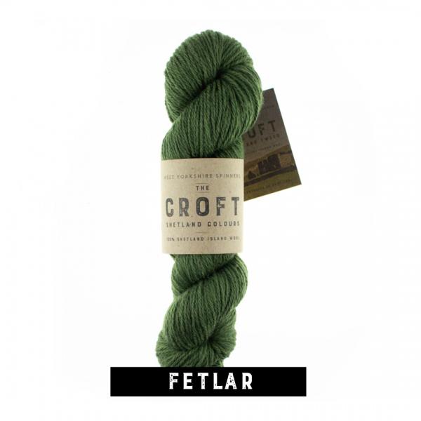 WYS The Croft Shetland Colours Aran
