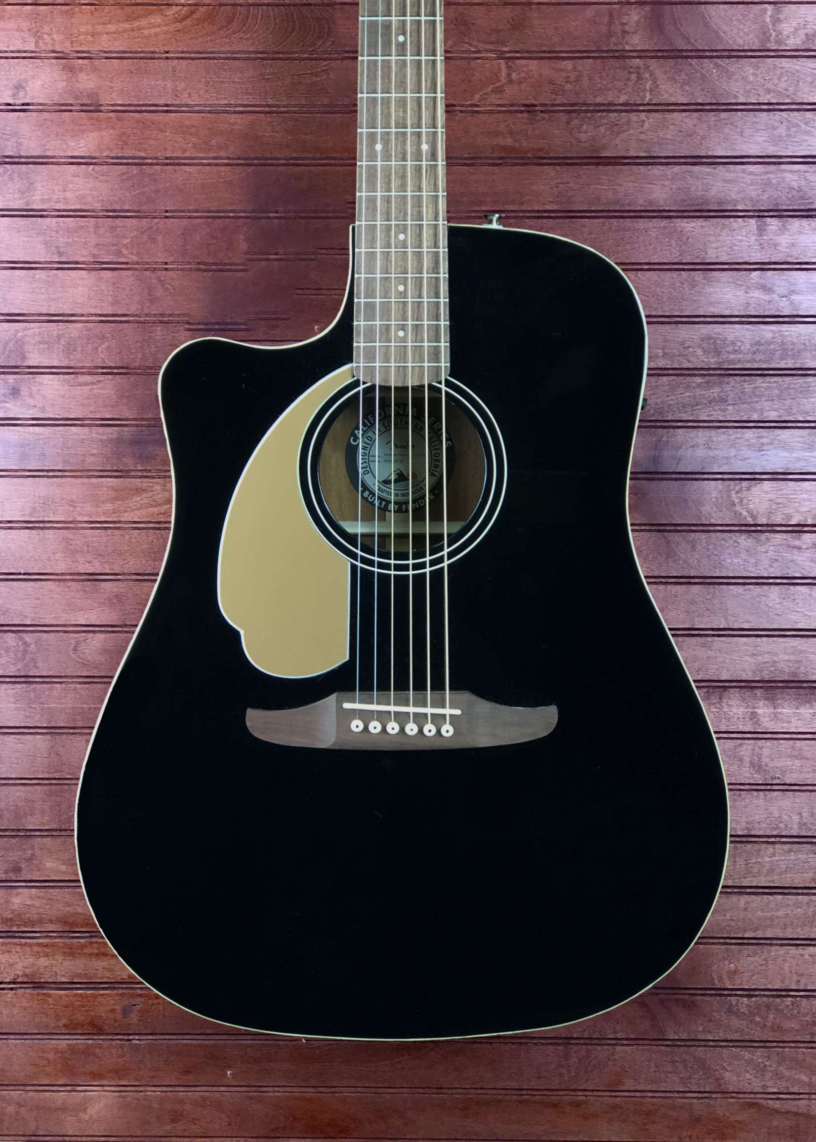 Fender Redondo Player Jetty Black Left Handed