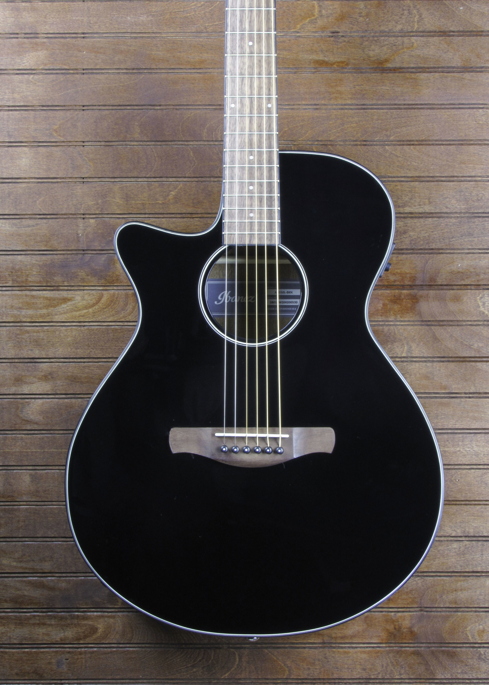 Ibanez AEG50 Black Left Handed